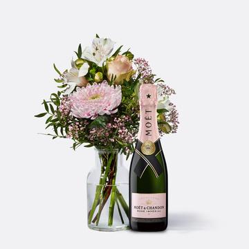 Freude für Dich mit Champagner Moët Rosé