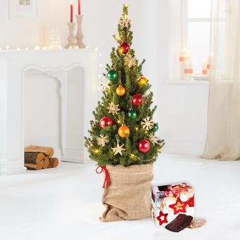 Weihnachtsbaum New York City Christmas mit Lebkuchen Schmidt