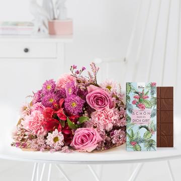 Mein Liebling mit Schokolade Schön, dass es dich gibt
