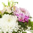Blumenstrauß  Blumenfreude mit Mini Sachertorte