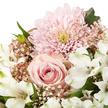 Wiesenstrauß  Freude für Dich mit Sachertorte Herzlichen Glückwunsch