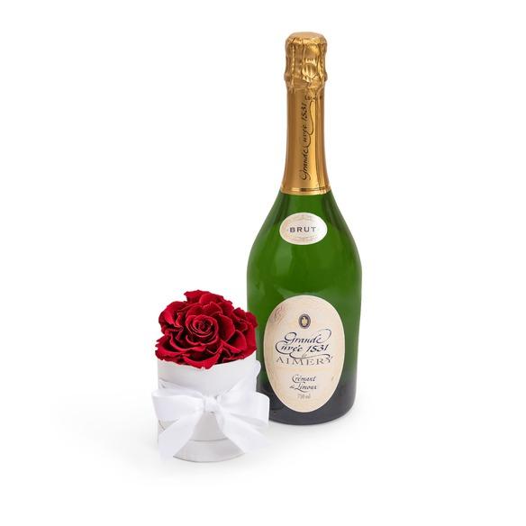 Geschenkset  Crémant et Fleur