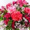Blumenstrauß  Mamas Liebling mit Sekt Danke Mama