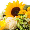 Wiesenstrauß  Sonnenkind mit Nivea Glamour Verwöhnset