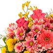 Blumenstrauß  Tanz der Blüten mit Champagner Veuve Clicquot