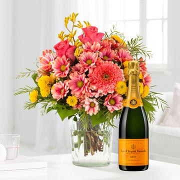 Tanz der Blüten mit Champagner Veuve Clicquot