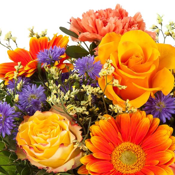 Blumenstrauß  Herbstsinfonie mit Tartufini