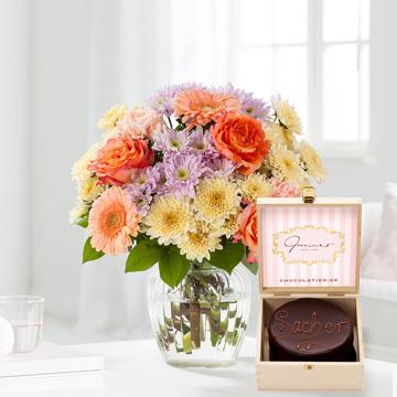 Blütenpracht Größe M mit Mini Sacherorte
