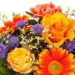 Blumenstrauß  Herbstsinfonie mit GRATIS Dr. Oetker Zitronenküchlein