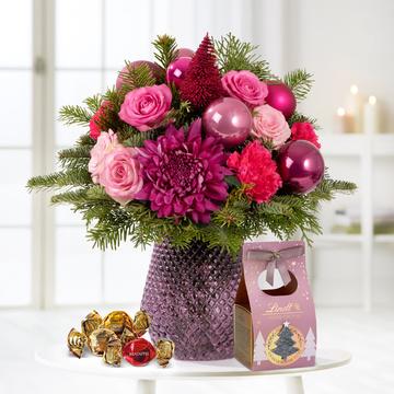 Pink Christmas mit Lindt Süsse Grüsse