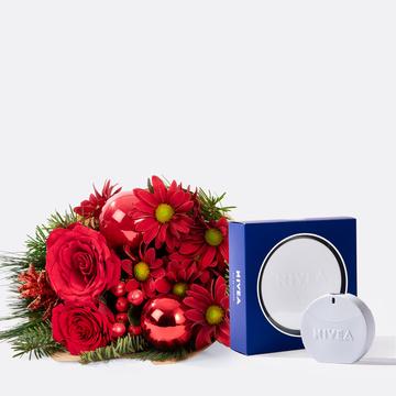 Weihnachtlicher Gruß mit Nivea Eau de Toilette