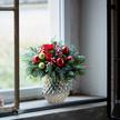 Blumenstrauß  Schönste Freude Größe M mit Lebkuchen Schmidt