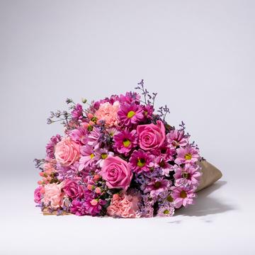 Traumhaft Pink Größe L mit Sachertorte