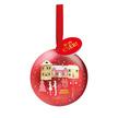 Rotwein Crianza Anoranza mit Ferrero Mon Chérie Weihnachtskugel
