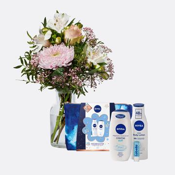 Freude für Dich mit Geschenkset Nivea mit Kosmetiktasche