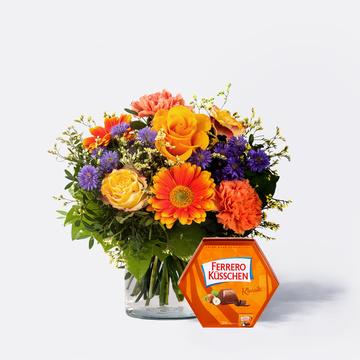 Herbstsinfonie mit Ferrero Küsschen