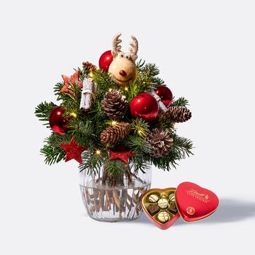 Hey Rudolph mit Lindt Herz