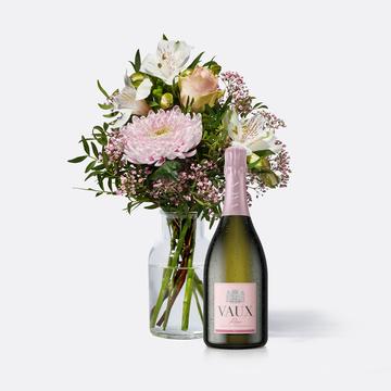 Freude für Dich mit Vaux Rosé Sekt brut