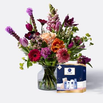Blütenparadies mit Verwöhnset Nivea Cozy Feeling
