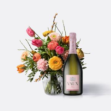 Frühlingstraum mit VAUX Rosé Brut