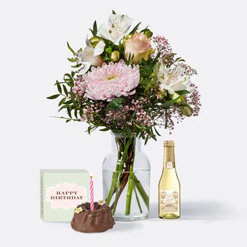 Freude für Dich mit Geburtstagsküchlein und Jules Mumm Happy Birthday