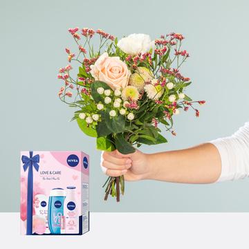 Valentina mit Nivea Love & Care Geschenkset