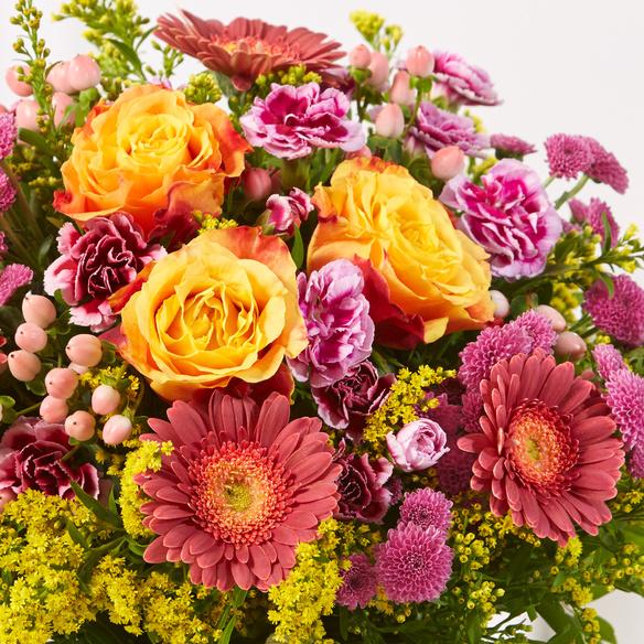 Blumenstrauß  Spiel der Farben Größe L