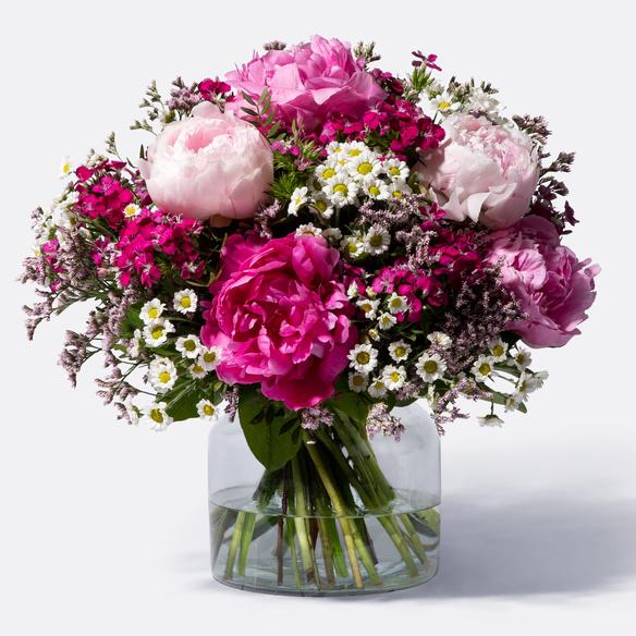 l Blumenstrauß Pink Garten & Terrasse Pflanzen, Sämereien & Zwiebeln