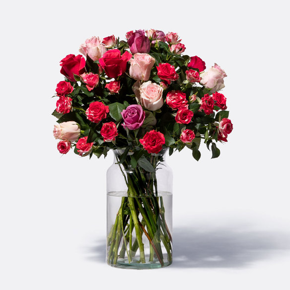 Rosenstrauß  Mellow Roses Größe L
