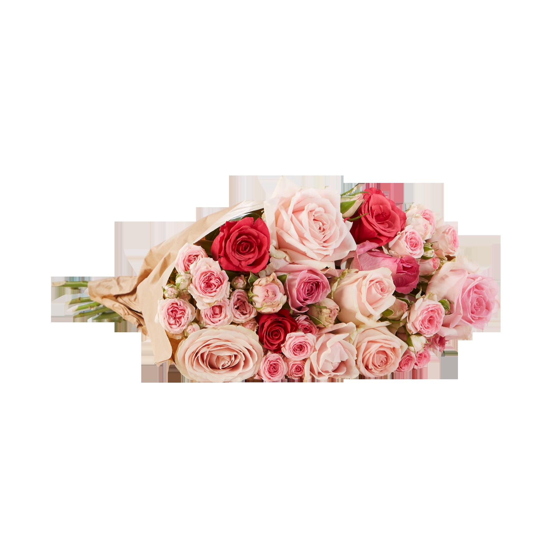 #15 Stiele Mellow Roses Größe L#
