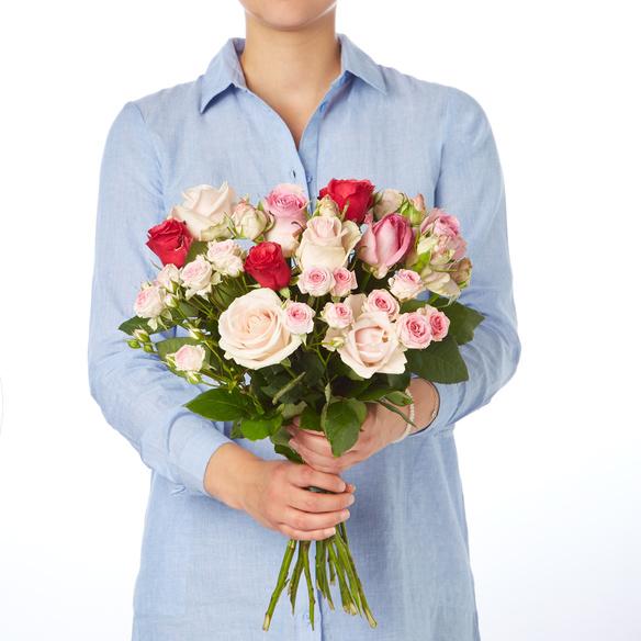 Rosenstrauß  Mellow Roses 15 Stiele