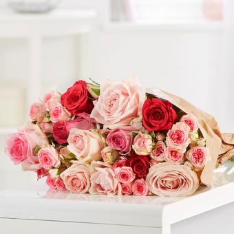 Mellow Roses 15 Stiele