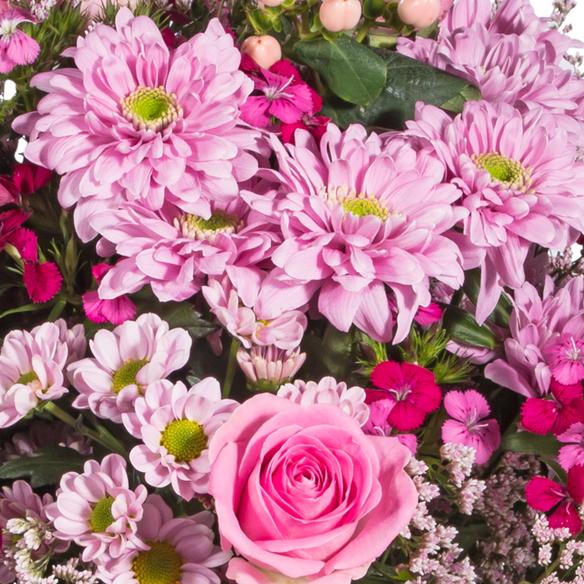 Wiesenstrauß  Traumhaft pink Größe L