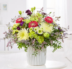 Blumenstrauß Simply the Best in Pink, Lila und Grün