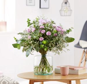 Blumenstrauß Hello Beauty in Rosa und Grün
