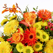 Blumenstrauß  Leuchtende Freude