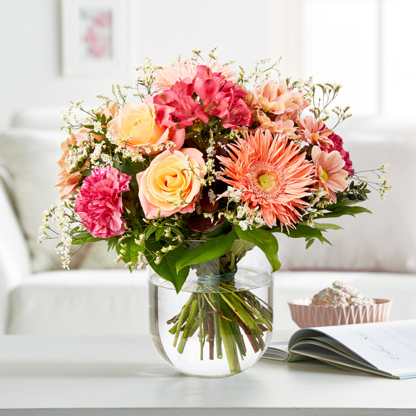 Blumenstrauß  Blütengrüße