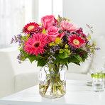 Blumenstrauß  Pinke Freude