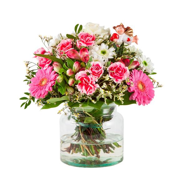 Blumenstrauß  Schutzengel