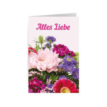 Alles Liebe - Flower Power