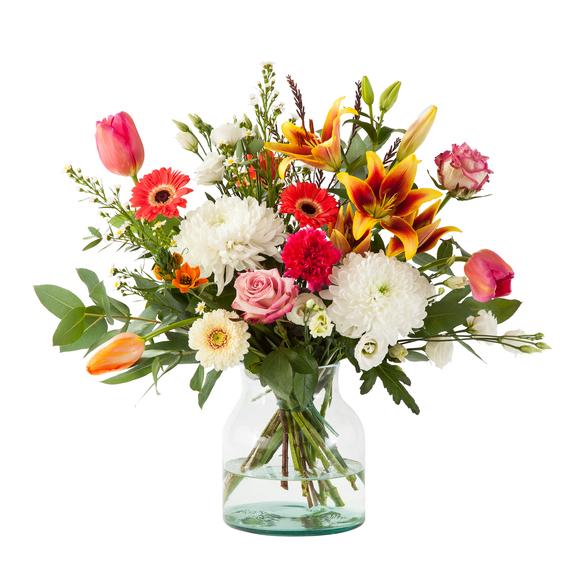 Blumenstrauß  Strahlender Gruß