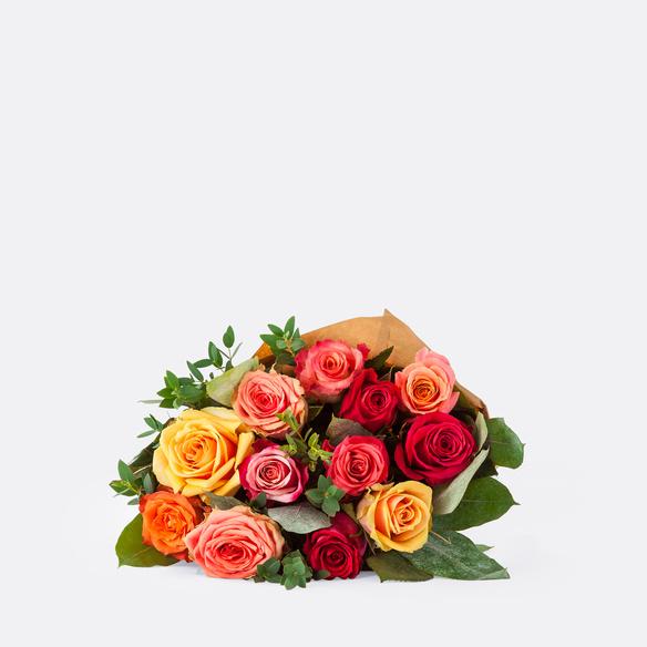 Rosenstrauß  Colourful Splash Größe M