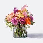 Blumenstrauß  Bunte Ostergrüße