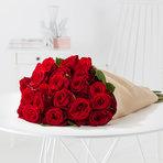 Rosenstrauß  Rote Rosen Größe L
