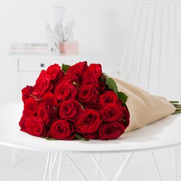 Rote Rosen Größe L