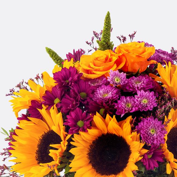 Blumenstrauß  Goldgruß