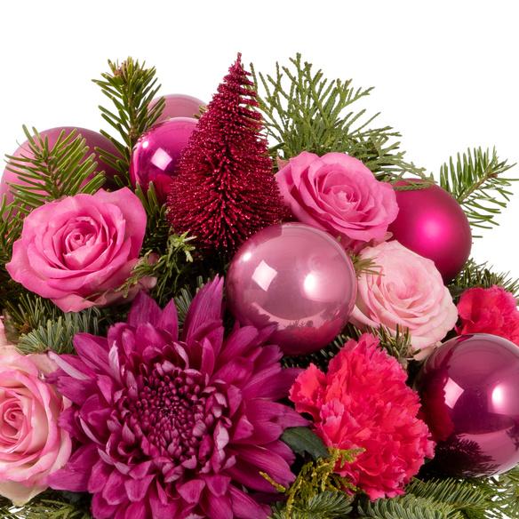 Blumenstrauß  Pink Christmas