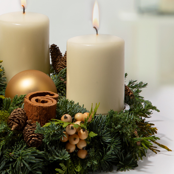 Adventskranz  Adventszeit