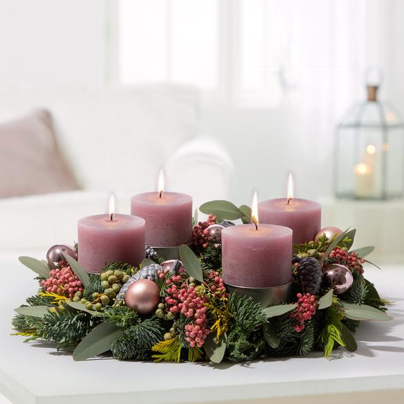 Adventskranz  Shiny Christmas