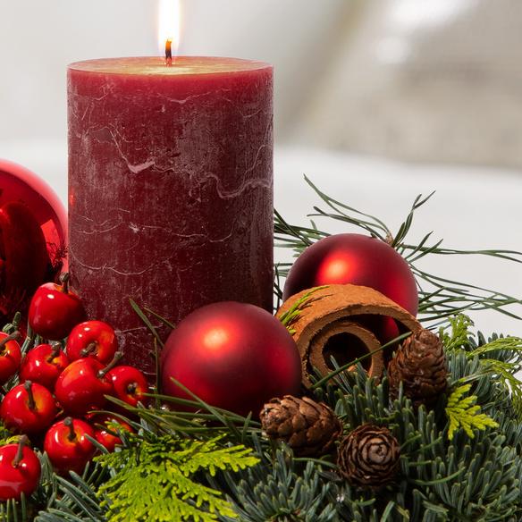 Adventsgesteck  Schöner Advent
